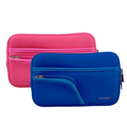 Sunstech BAG72 - Funda, para tablets de 7 pulgadas, color Azul