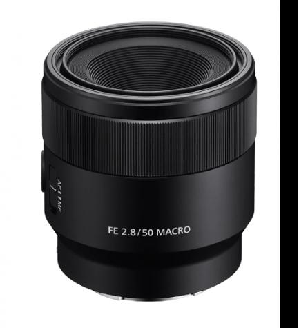 Sony SEL E50mm F2.8 MACRO - Objetivo, color Negro