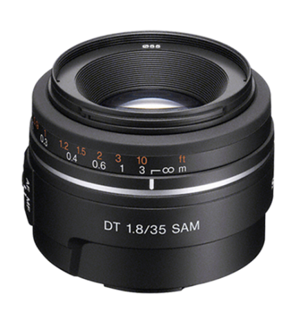 Sony SAL 35mm F1.8 - Objetivo,