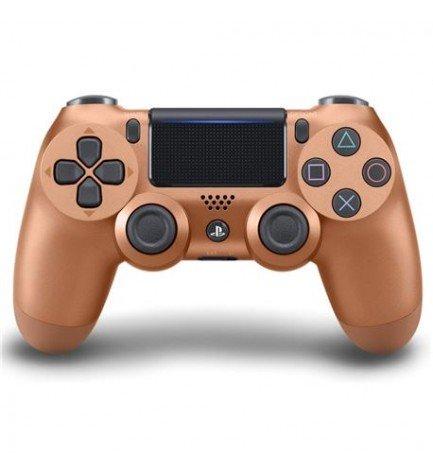 Sony DualShock 4 - Mando, diseñado para Playstation 4 y Playstation VR, versión 2, color Cooper