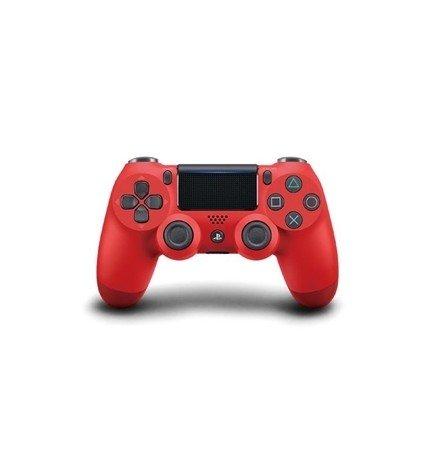 Sony DualShock 4 - Mando, diseñado para Playstation 4 y Playstation VR, versión 2, color Rojo