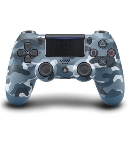 Sony DualShock 4 - Mando, para Playstation 4, color Azul Camuflaje
