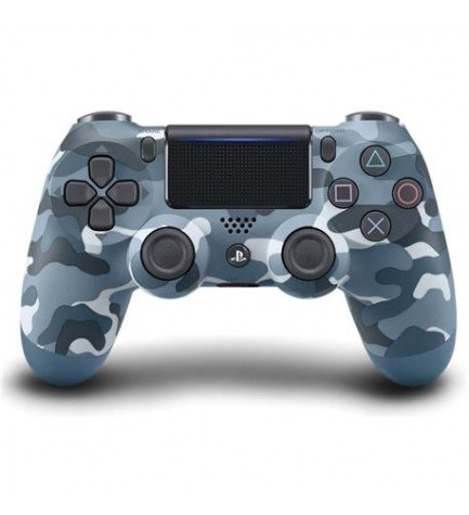 Sony DualShock 4 - Mando, para Playstation 4, color Azul Camuflaje