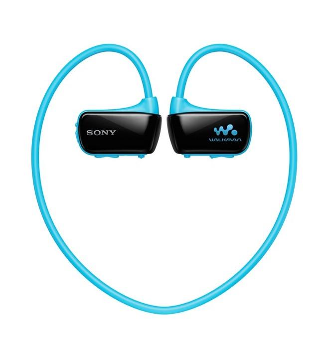 Sony NWZ-W273SL - Reproductor MP3, capacidad 4 GB, acuático, color Azul