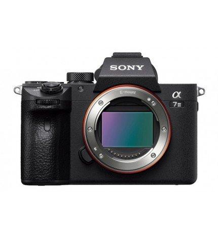 Sony ILCE-7M3 a7 Mark III - Cámara sin espejo, resolución 24 Mpx, color Negro