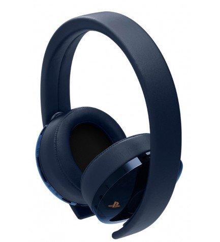 Sony Wireless - Auriculares inalámbricos, diseñado para Playstation 4, color Dorado Azul
