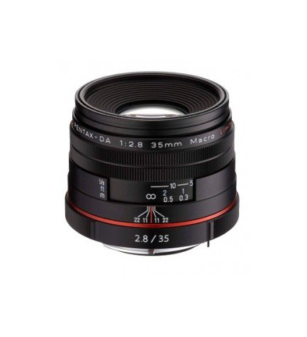Ricoh DA 35mm F2.8 HD MACRO LTD - Objetivo,