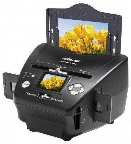Reflecta 64220 - Escaner, 3 en 1, resolución 5 Mpx