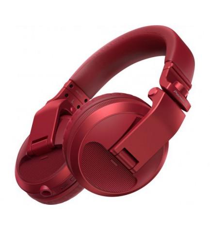 Pioneer HDJ-X5-R - Auriculares DJ, color Rojo