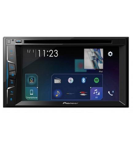 Pioneer AVH-Z2100BT - Reproductor multimedia, bluetooth, pantalla 7 pulgadas, 2DIN