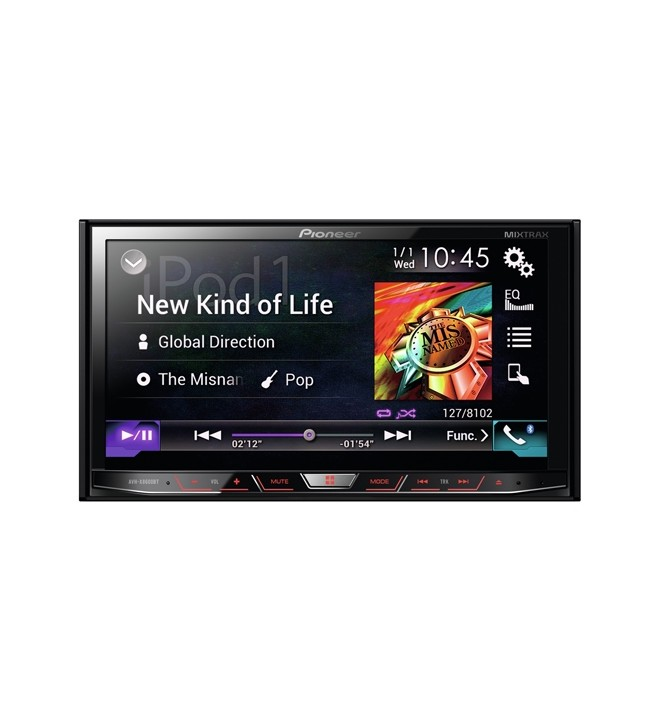 Pioneer AVH-X8600BT - Reproductor multimedia,