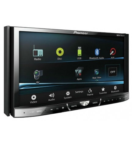 Pioneer AVH-X5500BT - Reproductor multimedia,