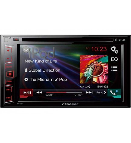 Pioneer AVH-270BT - Reproductor multimedia,