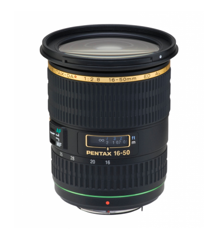 Pentax DA 16-50mm F2.8 ED AL IF - Objetivo,