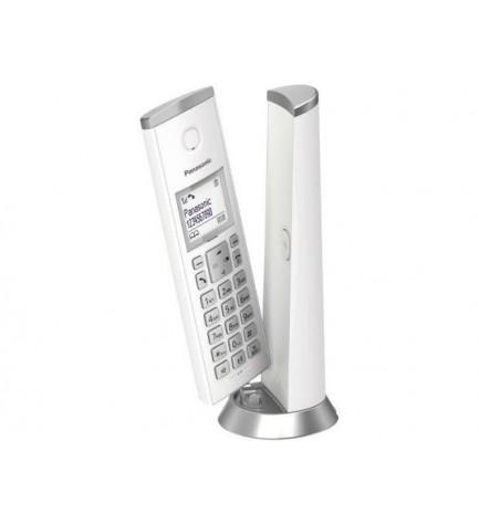 Panasonic KX-TGK210 - Teléfono inalámbrico, color Blanco