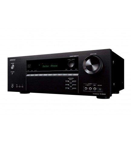 Onkyo TX-SR444-B - Receptor, potencia 100w, HDMI, color Negro
