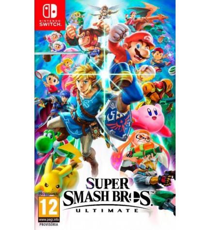 Nintendo Super Smash Bros Ultimate - Videojuego, diseñado para Switch