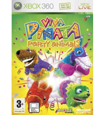 Microsoft Viva Piñata Party Animals - Videojuego, Xbox 360