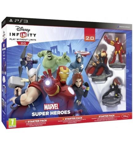 Sony Super Heroes - Videojuego, pack de inicio, diseñado para Playstation 3