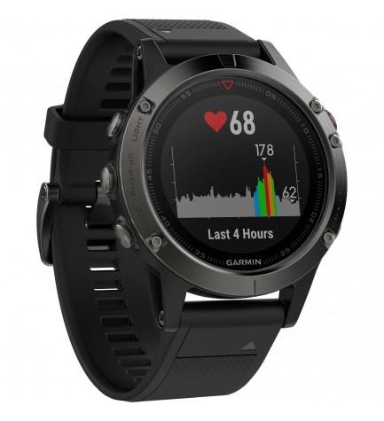 Garmin Fenix 5 - Reloj deportivo, color Negro