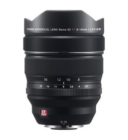Fujifilm XF 8-16mm F2.8 R LM WR - Objetivo,