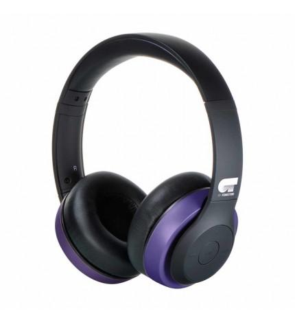 Fonestar Harmony - Auriculares bluetooth, color Negro Violeta
