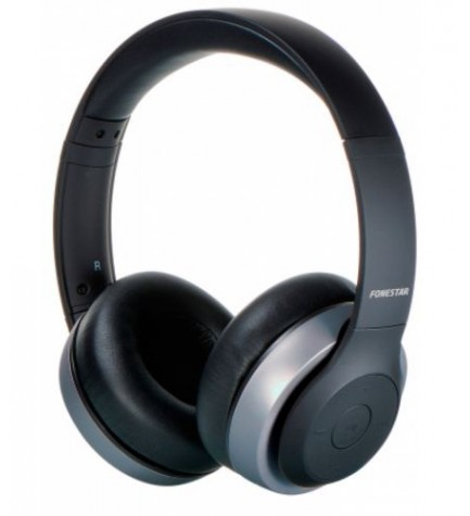 Fonestar Harmony - Auriculares bluetooth, color Negro Gris