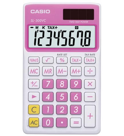 Casio SL-300VC - Calculadora, color Rosa