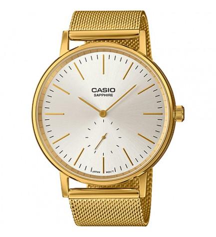 Casio LTP-E148MG-7A - Reloj, analógico, color Dorado