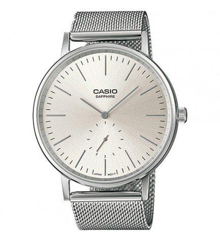 Casio LTP-E148M-7A - Reloj, analógico, color Plata