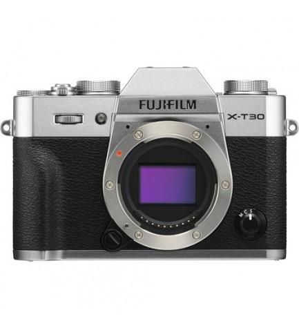 Fujifilm X-T30 - Cámara sin espejo, resolución 26.1 Mpx, color Plata