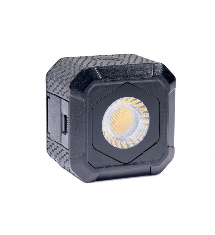 Lume Cube Air - Antorcha LED, formato cubo, 400 lúmenes, sumergible 10 metros, incluye foto rótula DSLR