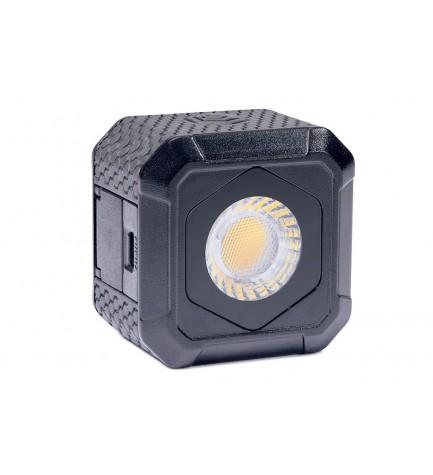 Lume Cube Air - Antorcha LED, formato cubo, 400 lúmenes, sumergible 10 metros, incluye sujeción ventosa