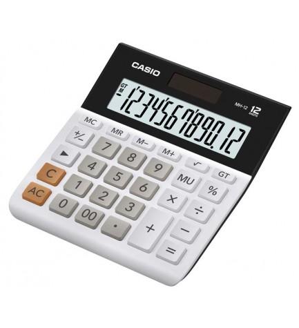 Casio MH-12-BK - Calculadora, 12 dígitos