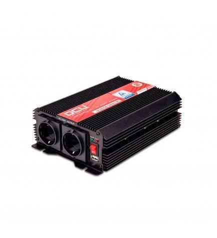 DCU 3741121000 - Convertidor, 12Vcc a 230vAC, 1000w, modificada USB