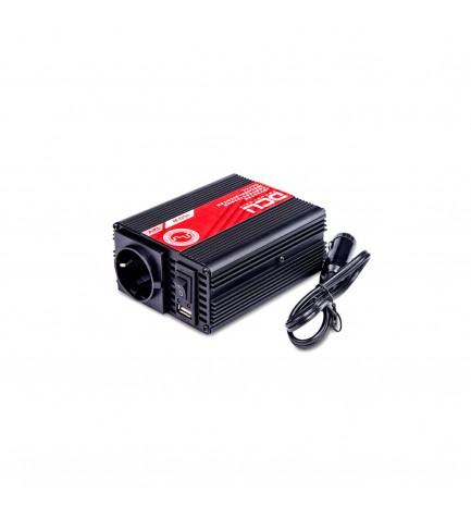 DCU 374112150 - Convertidor, 12Vcc a 230vAC, 150w, modificada USB