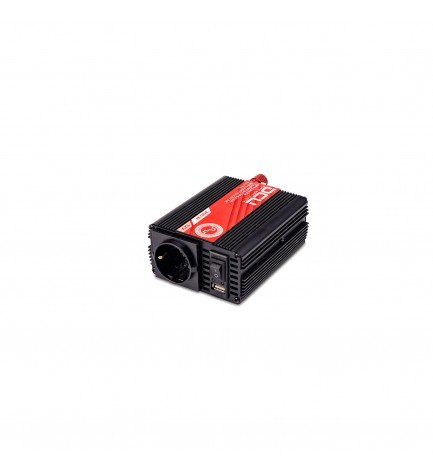 DCU 374112300 - Convertidor, 12Vcc a 230vAC, 300w, modificada USB