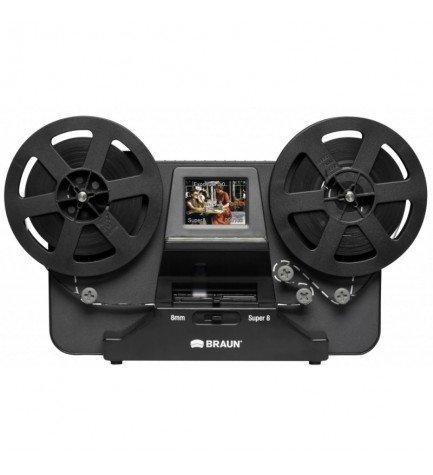 Braun Phototechnik 34550 Novoscan Super 8 - Escaner de películas, color Negro