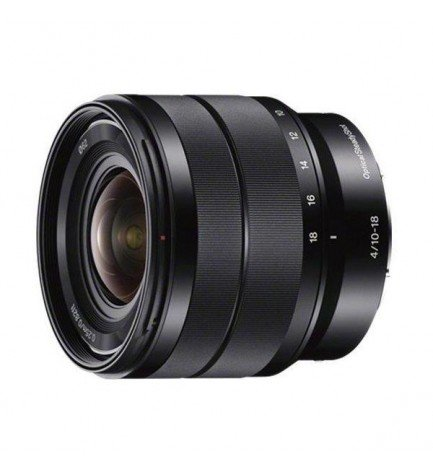 Sony SEL E-10-18mm F4 OSS - Objetivo, color Negro
