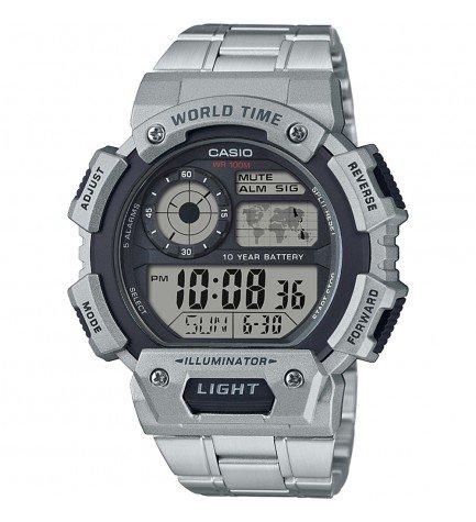 Casio AE-1400-WHD-1A - Reloj, digital, material acero