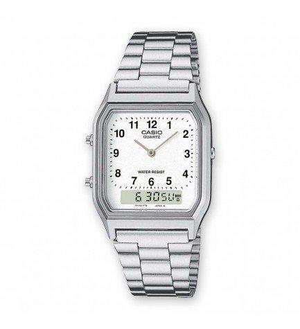 Casio AEQ-230A-7B - Reloj, material acero