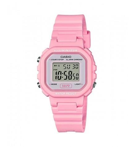 Casio LA-20WH-4A1 - Reloj, digital, pequeño, color Rosa
