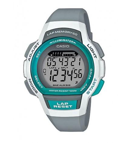 Casio LWS-1000H-8A - Reloj, color Blanco Turquesa