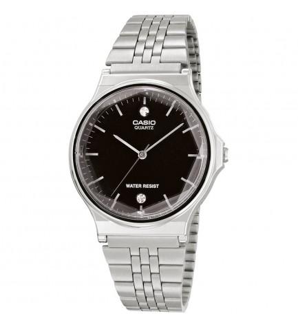 Casio MQ-1000ED-1A2 - Reloj, material acero, esfera negra diamonds