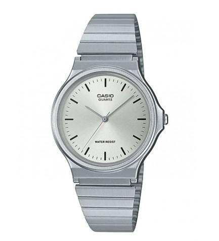 Casio MQ-24D-7E - Reloj, material acero, color Plata
