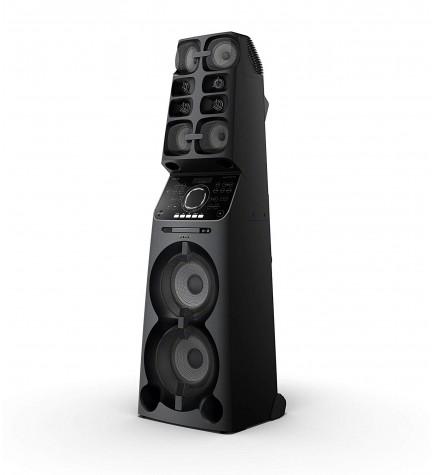 Sony MHC-V90DW - Sistema de sonido, alta potencia, nivel profesional, bluetooth, lector de CD DVD, color Negro