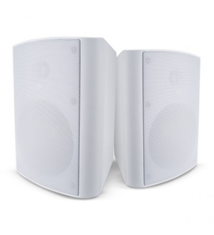 Cambridge ES20 - Altavoces de exterior, potencia 100w, color Blanco