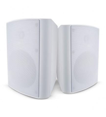 Cambridge ES20 - Altavoces de exterior, potencia 100w, color Blanco