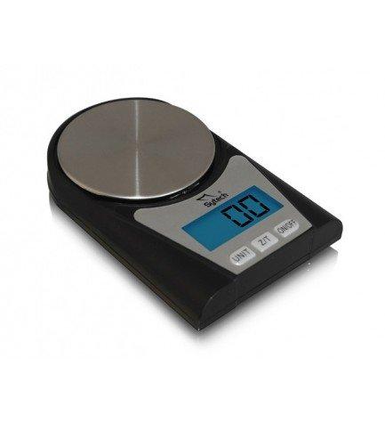 Sytech SYBS502 - Báscula de precisión, máximo 100g, color Negro