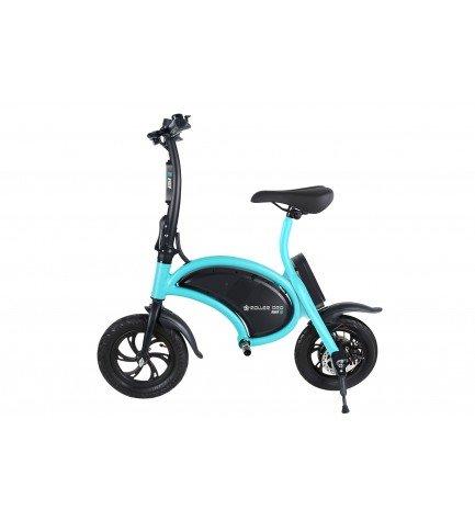 Roller PRO RIDER-6 - Bicicleta eléctrica, potencia 350w, color Negro Turquesa
